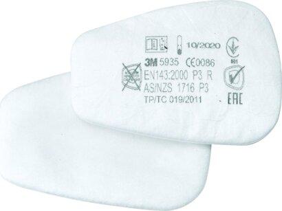 Vlies-Filter gegen Feinstäube