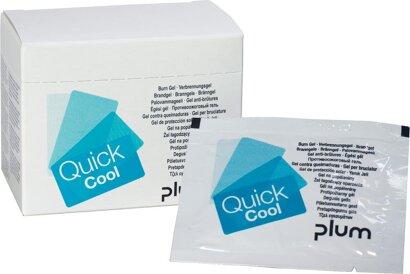 Verbrennungsgel QuickCoolBox mit 18 Sachets