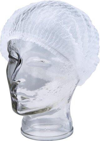 Kopfhaube Vlies weiß