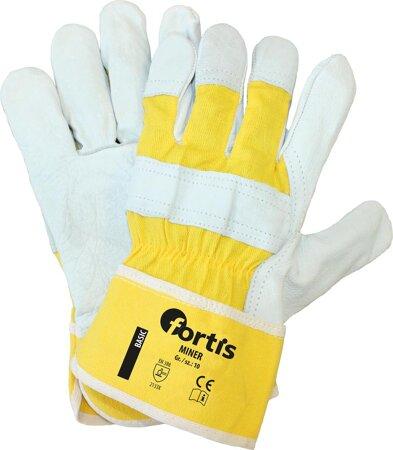 Handschuh aus Rindnarbenleder Miner