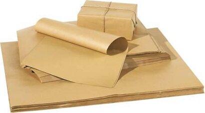 Packpapier, Bogenware