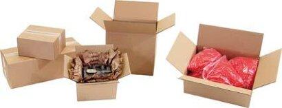 2-wellige Falt-Kartonage für Güter bis 30 kg