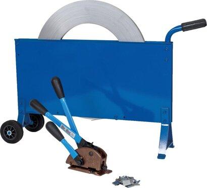 Stahlband-Umreifungs-Set fahrbar