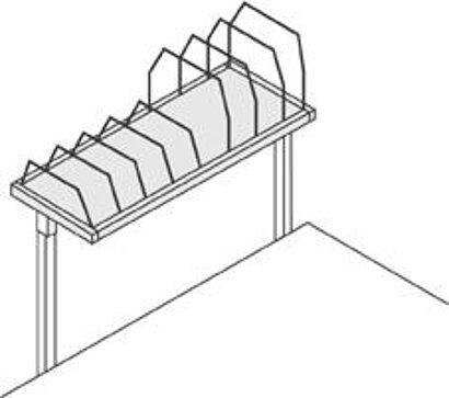 Pack- und Arbeitstisch-Erweiterungen für Packtischsysteme
