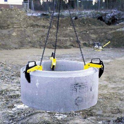 Betonrohr-Transportgehänge