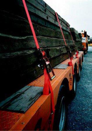 Ratschen-Zurrgurt 250 daN zulässige Zugkraft direkt 1-tlg