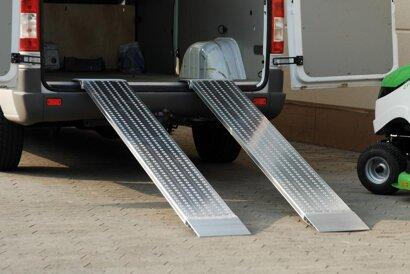 Aluminium-Verladeschiene, ohne Schutzrand