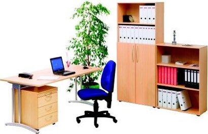 Büro-Komplett-Set, 5-teilig