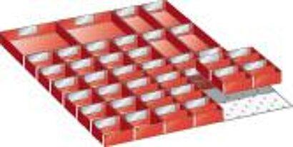 Einsatzkästen FH 50 für Kleinteilekoffer