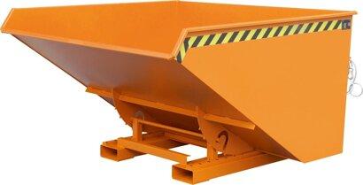 Kippbehälter mit Abrollsystem, Typ EXPO®, RAL 2000
