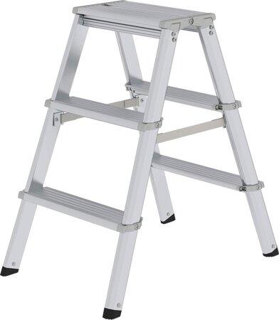 ML Stufen-Stehleiter, beidseitig begehbar