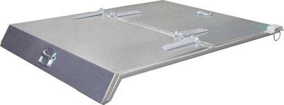 Deckel für Mini-Kippbehälter Typ MGU mit Abrollsystem