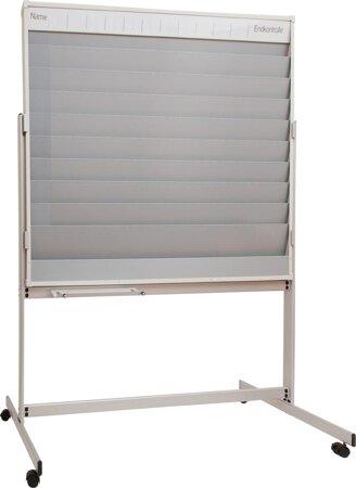 Mobiler Werkstattplaner DIN A4 aus Metall
