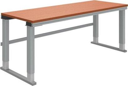 Arbeitsplatzsysteme Multi4easy - Höhenverst. Grundtisch m. Multiplex-Tischplatte