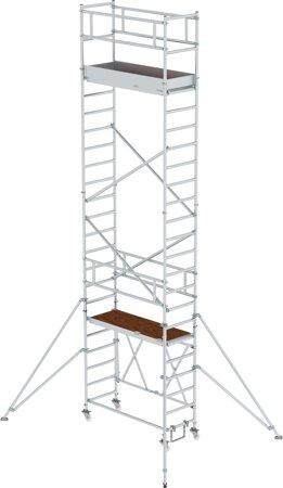 Klappgerüst mit Ausleger Arbeitshöhen 3,80 - 13,80 m