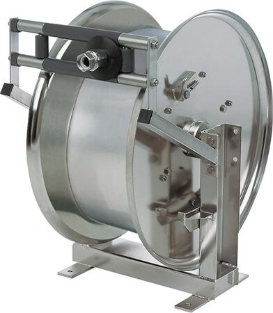Edelstahl-Schlauchaufroller Model BT 6000 ohne Schlauch