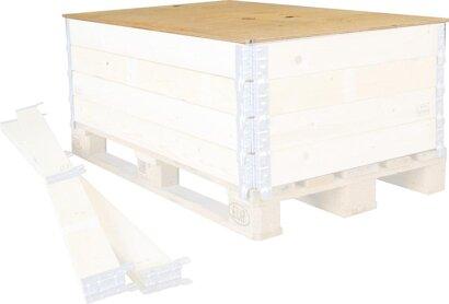 Holzaufsetzrahmen und Deckel