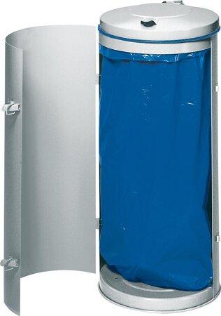 Abfallsammler feuerverzinkt für 120-Liter-Säcke