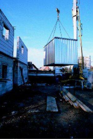 Antikondenswasserbeschichtung für Schnellbau-Container SC