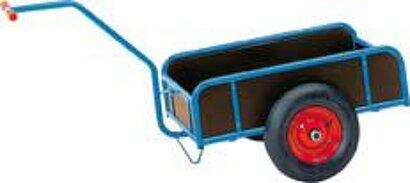 Handwagen mit Wänden