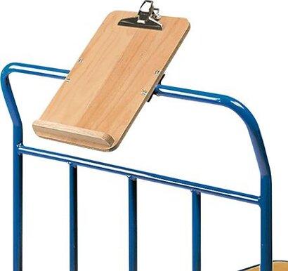 Schreibtafel für Format DIN A4 für Tisch- und Transportwagen
