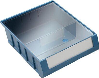 Etiketten-Schutzfolie für Kunststoff-Regalkästen