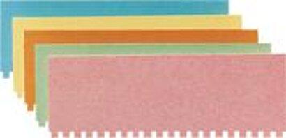 Namens-/Bezeichnungsschilder-Karton für Streifen-Stecktafeln