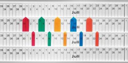 Planungstafel für Streifen-Stecktafeln