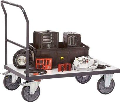 ESD-Transportwagen, elektrisch leitfähig