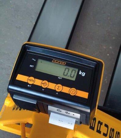 Zubehör zu Hubwagen Basic und X-tra B Thermodrucker für Wiegehubwagen Bruss