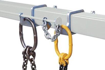 Diebstahlsicherung und Aufhängehaken