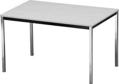 Mehrzwecktisch, Tischplatte in lichtgrau