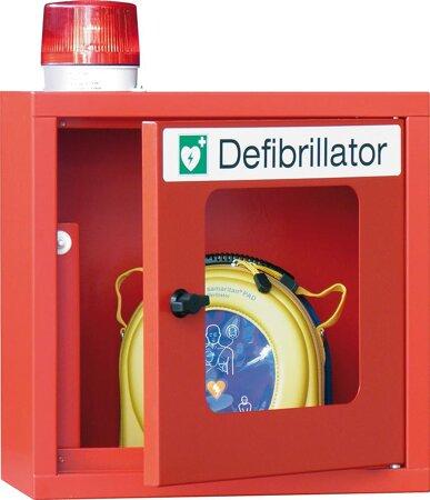 Hängeschrank für Defibrillatoren