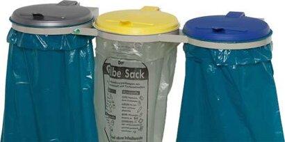 Abfallsammler Dreifach-Ständer