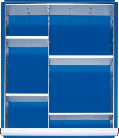 Einteilungs-Set 1 Trennwand, 4 Steckwände für Größe L