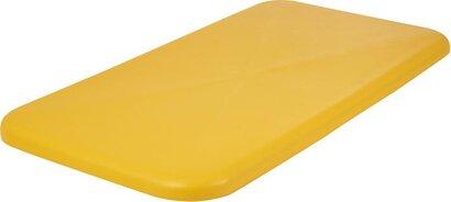 Deckel, gelb passend zu Rollwagen