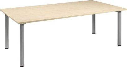 Konferenztisch, rechteckig, Breite 1200 mm