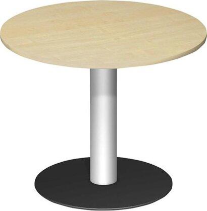 Konferenztisch rund mit Säulenfuß