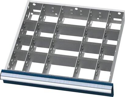 Einteilungsmaterial für Schubladen-Innenmaß 500x450 mm