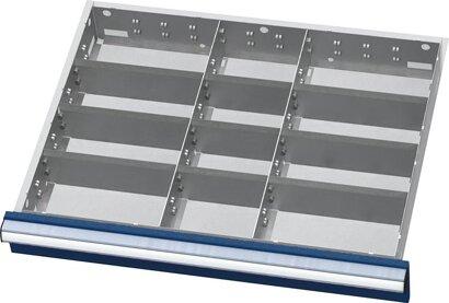 Einteilungsmaterial für Schubladen-Innenmaß 600x450 mm