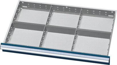 Einteilungsmaterial für Schubladen-Innenmaß 800x450 mm