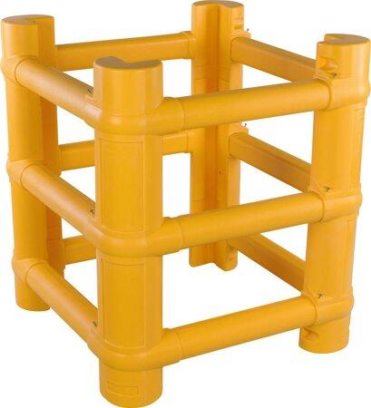 Modularer Säulenschutz