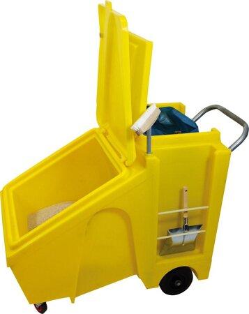 Granulat-Einsatzwagen