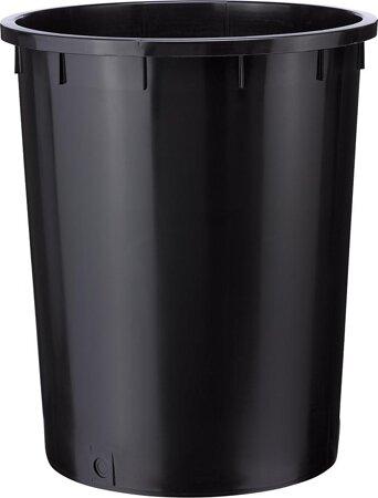 Kunststofftonne, schwarz