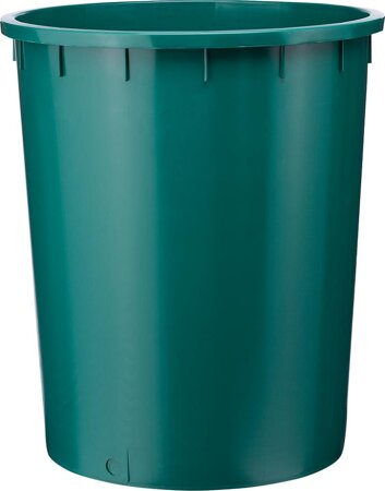 Kunststofftonne, grün