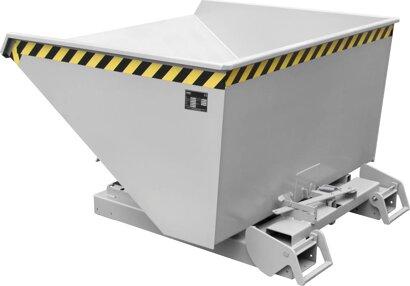 Kippbehälter, Typ 4A mit Abrollsystem, verzinkt