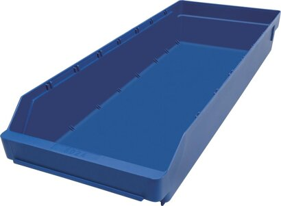 Kleinteilekasten aus Polypropylen, blau