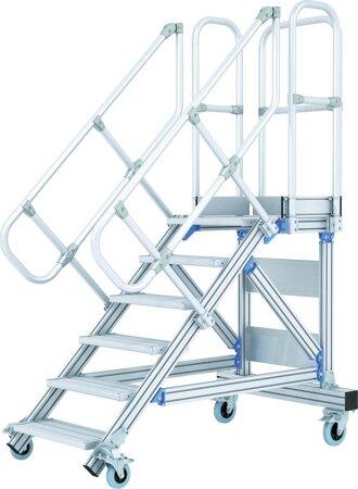 Plattformtreppe, fahrbar