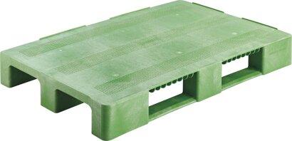 Kunststoff-Palette, mit Antirutschkante