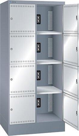 Akku-Ladeschrank mit 8 Fächern 2x4